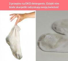 3 przepisy na EKO detergenty. Dzięki nim białe skarpetki odzyskają swoją świeżość