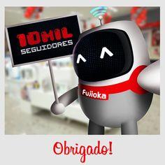 10mil seguidores Intagram - Cliente: Fujioka Agencia Bamboo