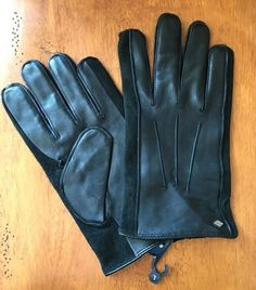 db1725ae48cd Joseph Abboud Men s Black Leather Gloves L NWT  fashion  clothing  shoes   accessories