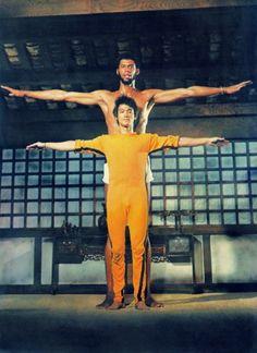 Kareem Abdul-Jabbar & Bruce Lee