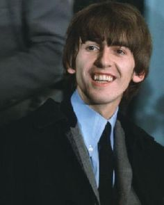 George's smile always makes me happy and love him even more <3 <3 <3 - July 1964 I miss you so much my pretty boy <3