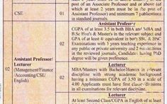 *Pundro University of Science and Technology (PUST), Post: Lecturer/Professor.* Source the Daily Karotya, Date of Publication January 21, 2015 #education/research #institute #newspaper #jobs #all #pust #pundro #university #of #science #and #technology #lecturer #professor