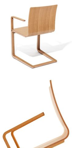 Mojo #chair by Ton | #design Michal Riabic #wood @tonchairs