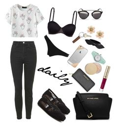 """""""daily routine"""" by annisa-sutarman on Polyvore"""
