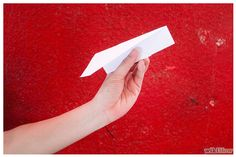 How to Make a Nakamura Lock Paper Airplane