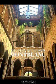 Montblanc has beautiful gothic churches, old narrow streets with and century buildings that are fascinating to wander through. Old Street, Medieval Town, 14th Century, Old Town, Wander, Buildings, Gothic, Barcelona, Spain