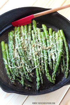 The Best Quick & Easy Stovetop Asparagus! Learn how to properly prep & make a simple sauteed asparagus on the stove in 10 minutes or less. This recipe is flavored with drool-worthy butter, garlic & parmesan cheese so it'll please even the pickiest Sauteed Asparagus Recipe, Parmesan Asparagus, Garlic Parmesan, Garlic Butter, Pan Seared Asparagus, Easy Asparagus Recipes, Grilled Asparagus, Sauteed Vegetables, Asparagus On The Stove
