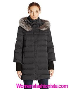 Elie Tahari Women's Silvana Down Coat with Fur Hood Review - http://womensfashionista.com/elie-tahari-womens-silvana-down-coat-with-fur-hood-review/  #Coat, #Elie, #Fur, #Hood, #Review, #Silvana, #Tahari, #Womens, #WomensParkaCoats