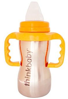 thinkbaby Sippy Steel Bottle Silver *** You can find more details by visiting the image link.Note:It is affiliate link to Amazon.