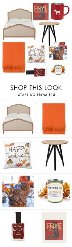 """""""Y'all let's give thanks🦃🍗"""" by missjackietexadaa ❤ liked on Polyvore featuring interior, interiors, interior design, home, home decor, interior decorating, Home Decorators Collection, Lapuan Kankurit, Improvements and Lauren B. Beauty"""