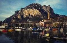https://flic.kr/p/qE4YRF   Lecco 1   An overview of Lake Lecco Italy, at sunset in December, this photo I dedicate to all my friends who love the lakes and the sea!