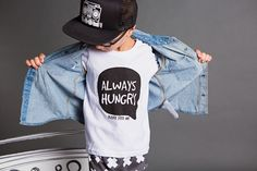 Always Hungry || long sleeve