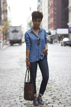 """Making the """"Canadian Tuxedo"""" look good"""
