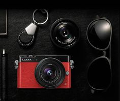 Panasonic LUMIX GM5 Interchangeable Lens Camera: Capture every moment with the Lumix GM5 camera that includes several interchangeable lens options for every shooting situation, and share with friends using the camera's Wi-Fi capability.
