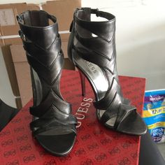 BRAND NEW! Guess Sexy High-Heels! Brand new high heels by Guess. Size 6. Comes with original box. Guess Shoes Heels