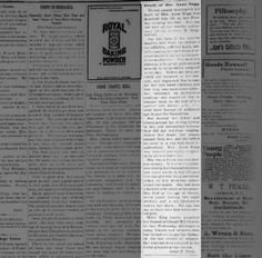 J.W. writes obit for Anna Sugg - The Patron and Gleaner Sept. 23, 1897