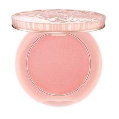 Paul & Joe Creamy Cheek Powder ($26) ❤ liked on Polyvore featuring beauty products, makeup, cheek makeup, blush, beauty, filler, pink, paul & joe, pink blush and creamy blush