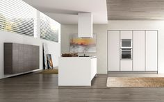BERLONI B50 doorstyle | Berloni Kitchen Cabinetry | Pinterest ...