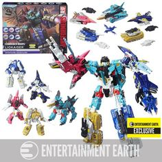 (affiliate link) Transformers Generations Platinum Edition Combiner Wars Liokaiser - Entertainment Earth Exclusive