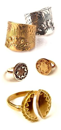 TheCarrotbox.com modern jewellery blog : obsessed with rings // feed your fingers!: AnnKat Jewelry
