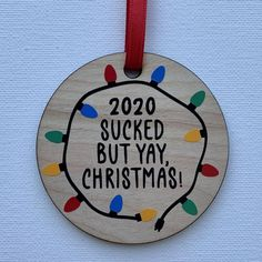 Funny Christmas Ornaments, Christmas Humor, Kids Christmas, Handmade Christmas Decorations, Funny Christmas Gifts, Etsy Christmas, Christmas Signs, Christmas Projects, Holiday Crafts
