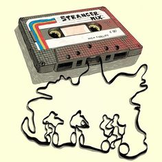 Stranger Things Cassette Tape