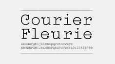 Courier Fleurie by Flag, Bastien Aubry & Dimitri Broquard