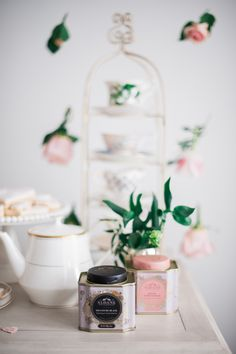 #Galentine's Party Ideas  - See More on SMP: http://www.StyleMePretty.com/2016/02/13/a-tea-time-galentines-day-party/ Photography : Heidi Lau