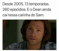 Supernatural Series, Winchester Supernatural, Supernatural Funny, Sam Winchester, Spn Memes, Worst Names, Sherlock Quotes, Geek Humor, Jared Padalecki