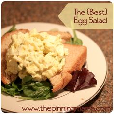 The Best Egg Salad | The Pinning Mama