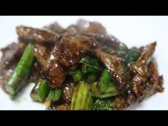 Subscribe Comment Share! Siu's Cooking Cha ya Restaurant Ingredients: Flank Steak, Chinese Broccoli, Ginger, Oyster Sauce, Dark soy sauce, Thin soy sauce, an...