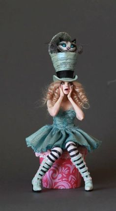 polymer clay dolls                                                                                                                                                      More