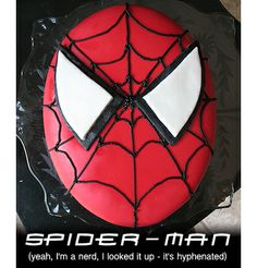 Easy homemade fondant and a spiderman cake :)