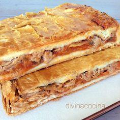 Empanada de atún con pisto < Divina Cocina