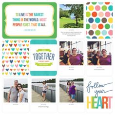 Layout by Kimberly Lund. #pocketscrapbooking #projectlife #projectlifeapp