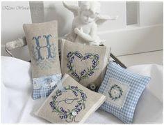 Lavender sachets from Eles klein wunderwelt blog