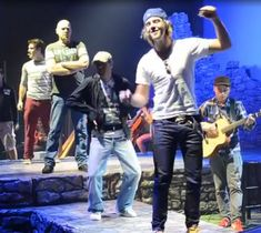 Keith and Neil dancing during soundcheck - keith-harkin Photo