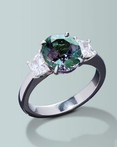 Color changing Alexandrite ring | Turgeon Raine Jewellers – Engagement Rings Fine Gemstones Gold Platinum Designer Jewelry