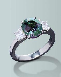 Color changing Alexandrite ring   Turgeon Raine Jewellers – Engagement Rings Fine Gemstones Gold Platinum Designer Jewelry