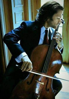 i've always loved classical music, but add a little Zuill Bailey playing the cello and it's HEAVEN! My favorite cellist Winchester Brothers, Sam Winchester, Jared Padalecki, Sound Of Music, Music Love, Pop Music, Familia Winchester, Cello Music, Reggae Music