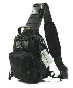 We took our popular Stage I Compact Sling Bag and made it better yet. We call it the Stage II. Everyday Carry Sling Pack. Small, Versatile Military Style Tactical Backpack Design is Heavy on Utility
