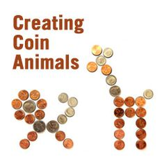 Creating Coin Creatures to Practice Counting Money: Includes animal templates, activities, and other money related activities. Money Activities, Math Resources, Kids Worksheets, Teaching Money, Teaching Math, Math Classroom, Kindergarten Math, Preschool Curriculum, Math Stations