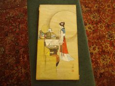 Art Deco Original Signed and Monogrammed Japanese by TFSloan, $55.00