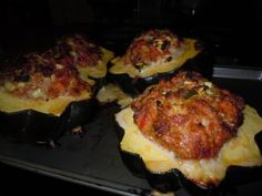 Paleo Stuffed Acorn squash  A+, we tried it and the whole family loved it!!!!