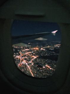 Night Aesthetic, Travel Aesthetic, Airplane Window View, City Vibe, Travel Goals, Paris, Aesthetic Pictures, Adventure Travel, Places To Go