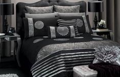 Black and silver bedroom ideas 2012