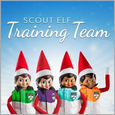 Training the elves how to scout is a big job, but the members of Santa's elite Scout Elf Training Team are up to the task! Learn all about them, and the Scout Elves at Play tool kit, in this exclusive Q&A!  | Elf on the Shelf Ideas | Easy Elf on the Shelf Ideas | Creative Elf on the Shelf Ideas