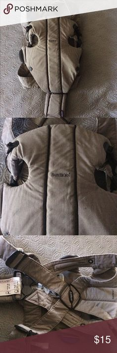 Organic Baby Bjorn carrier This soft cozy carrier is perfect for your sweet baby! 8-25 pounds. It is in great condition. Other