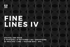 9bccbe6f Fine Lines IV - Fine Lines IV is a set of finely-lined patterns and art  elements.