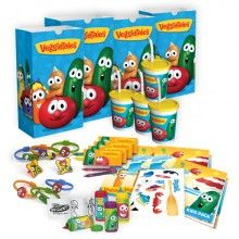 Veggie tale party supply